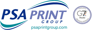 PSA Print Group – Digital & Commercial Printing Logo